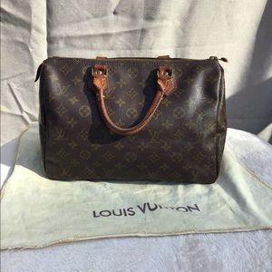 Vintage Louis Vuitton Speedy 30